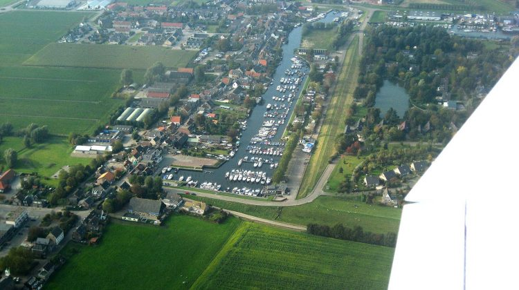 Jachthaven luchtfoto